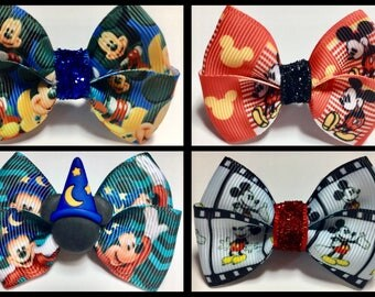Mickey Mouse Magic Bow Bands Party Gift Passholder