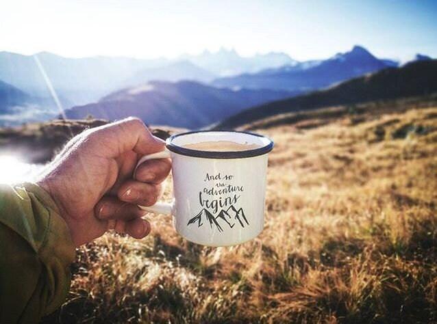Mountains Enamel Mugs