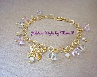 """Pure Crystal"" Bracelet with Crystal bracelet"
