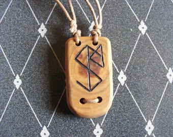 Personalised Bind-rune pendant