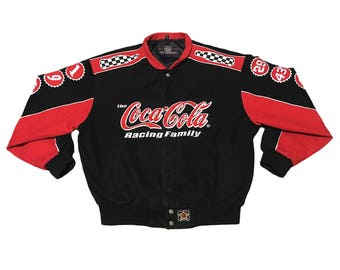 Vintage Coca-Cola Racing Jacket