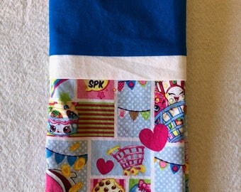 Pillowcase - Travel/Toddler Size - Shopkins