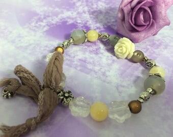 romantic bracelet beads Nude sweetness