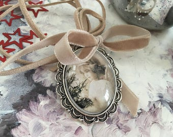 Necklace romantic Locket sweetness