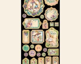 Graphic 45 Fairy Dust Chipboard, SC007757