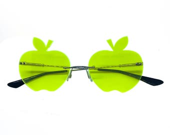 Green Apple Glasses