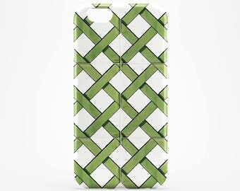 Green Pattern iPhone 8 Plus Case iPhone X Case Phone Case iPhone 7 Plus iPhone 6 Plus Case iPhone 7/8 iPhone SE Case iPhone 5 Case Galaxy S8