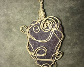 OOAK. Sea Glass Pendant
