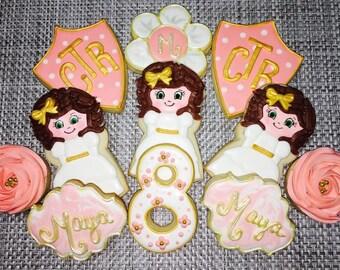 CTR Baptism Cookies