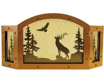Elk Candle Screen