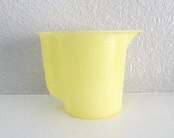 Small Yellow Tupperware Pitcher