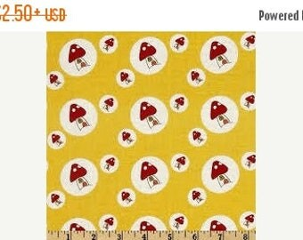 CIJSale Lecien Woodland Toadstool Yellow 30407 - 50