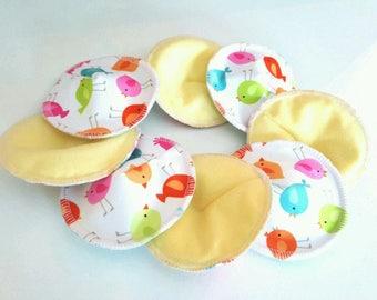 washable nursing pads (set of 8)