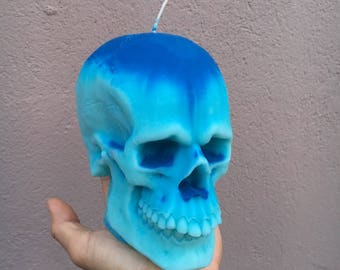 Scented Skull Candle