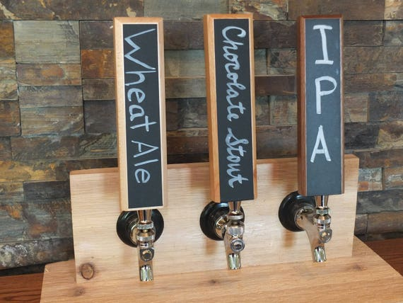 Chalkboard Tap Handle  on Maple, Cherry, or White Oak.