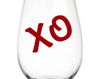 XO Stemless Wine Glass