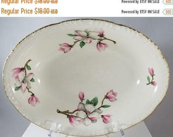 Dogwood (Liberty) Oval Vegetable Bowl by Homer Laughlin (930)