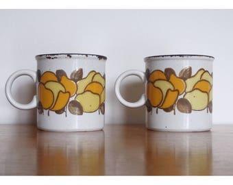 """Midwinter Stonehenge Summer Large 3 1/2"""" Stoneware Coffee Mug - 2 Available"""