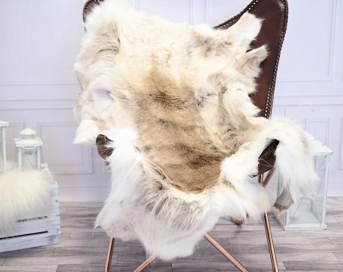 Reindeer Hide | Reindeer Rug | Reindeer Skin | Throw L Large  - Scandinavian Style #1RE7