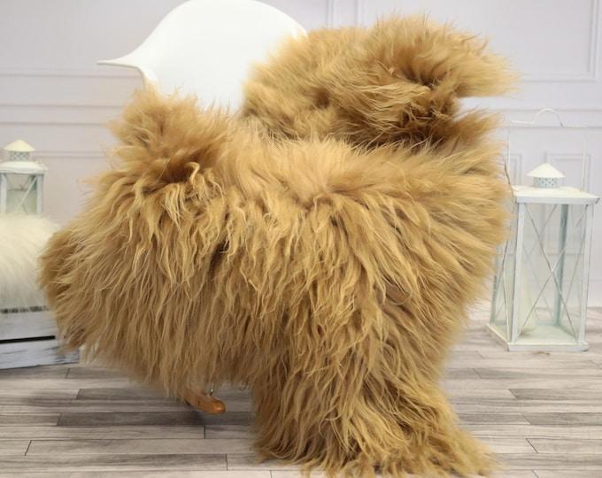 Icelandic Large Sheepskin   Real Sheepskin Rug   Blonde Sheepskin Rug   Fur Rug    Home decor #JANISL34