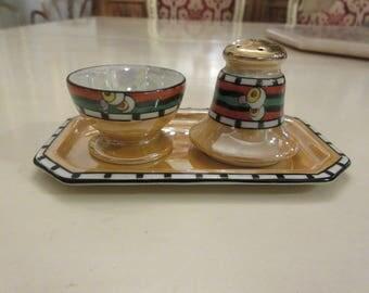 JAPAN SALT and PEPPER Shaker Set