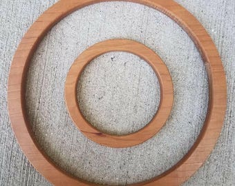 Wooden cherry rings