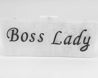 Boss lady clutch