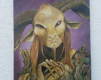 Pans Labyrinth Faun Painting