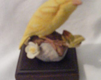 Vintage Lefton Yellow Canary Figurine