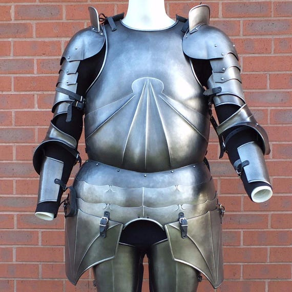 Larp Armour XL Heroic size German armour set