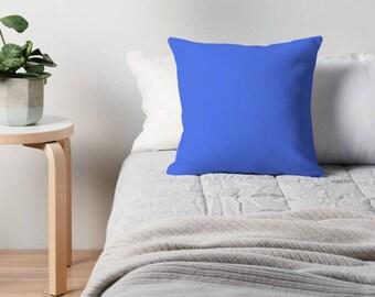 Royal Blue Pillow, Royal Blue Throw Pillow, Royal Blue Toss Pillow, Blue Toss Pillow, Blue Throw Pillow, Blue Pillow Case, Blue Decor