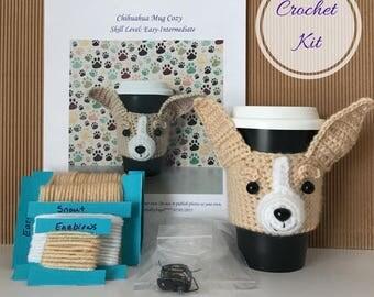 Amigurumi Kit - Crochet Pattern Dog - Crochet Kit - Crochet Starter Kit - Crochet Gifts - Crochet Dog Pattern - Dog Crochet Pattern