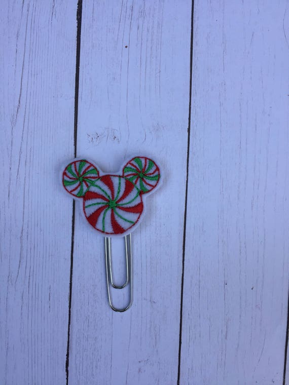 Peppermint Swirl Boy Mouse Planner Clip/Planner Clip/Bookmark. Mouse Planner Clip. RoseGold Planner Clip. Boy Mouse clip. Holiday planner