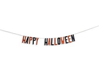 Halloween Banner Home Spooky Home Decor Garland Halloween