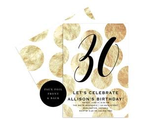 Geburtstag Einladen, Erwachsene Geburtstag Einladen, 30. Geburtstag