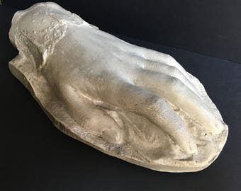 Victorian Death Plaster Cast of a Woman's Hand