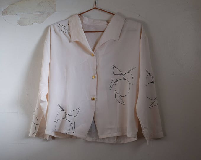 Clementine Pastel Pink Polyester Shirt