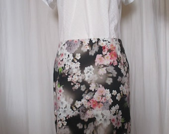 Summer skirt, flower lease ""