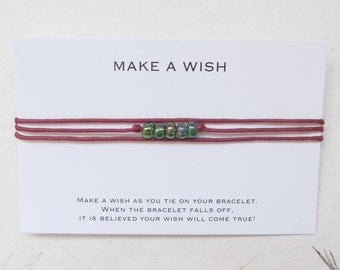 Wish bracelet, make a wish bracelet, friendship bracelet