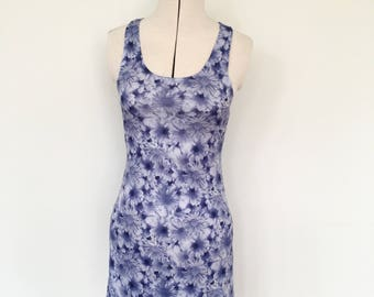 90's daisy print dress