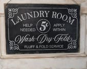 Laundry Room sign | 12x18...