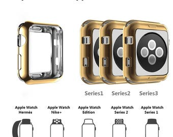 Apple Watch Cover - available colors Silver, Gold, Rose Gold and Black