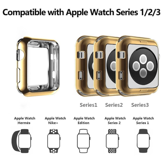 Pre-order: Apple Watch Cover - available colors Silver, Gold, Rose Gold and Black