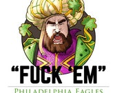 Jason Kelce Eagles Poster (Limited Print Run)