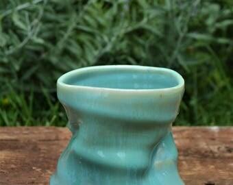 Icy Blue Porcelain Tumbler