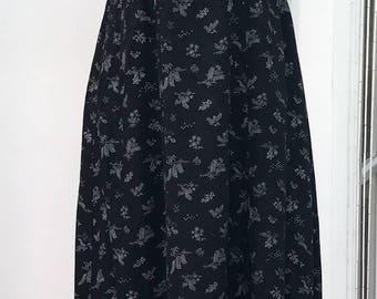 40s 50s dress, vintage dress, flower dress