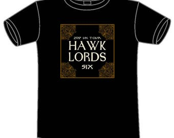 Small Hawklords SIX Tour 2017 T-Shirt