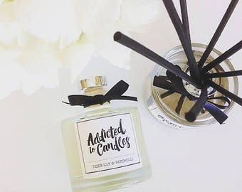 Lemongrass & Persian Lime Triple Scented 200ml  Reed Diffuser