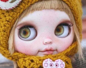 Foxy blythe doll custom ooak