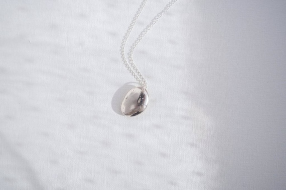 Pebble in Sterling Silver